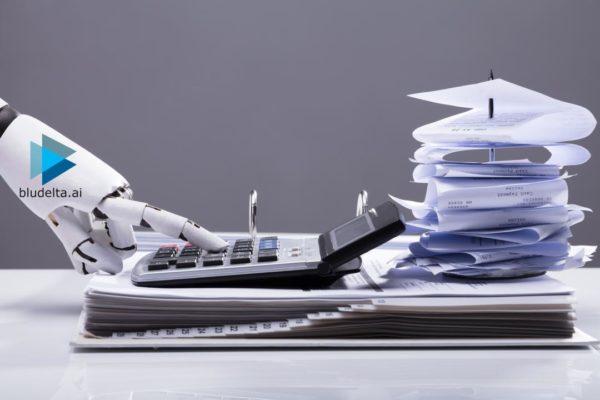 BLU DELTA KI - Robot KI Rechnungserfassung